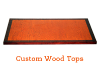Custom Wood Table Tops