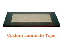 Custom Laminate Table Tops