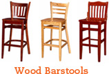 Restaurant Wood Bar Stools