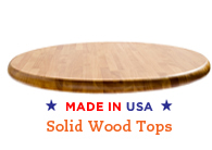 olid Wood Table Tops